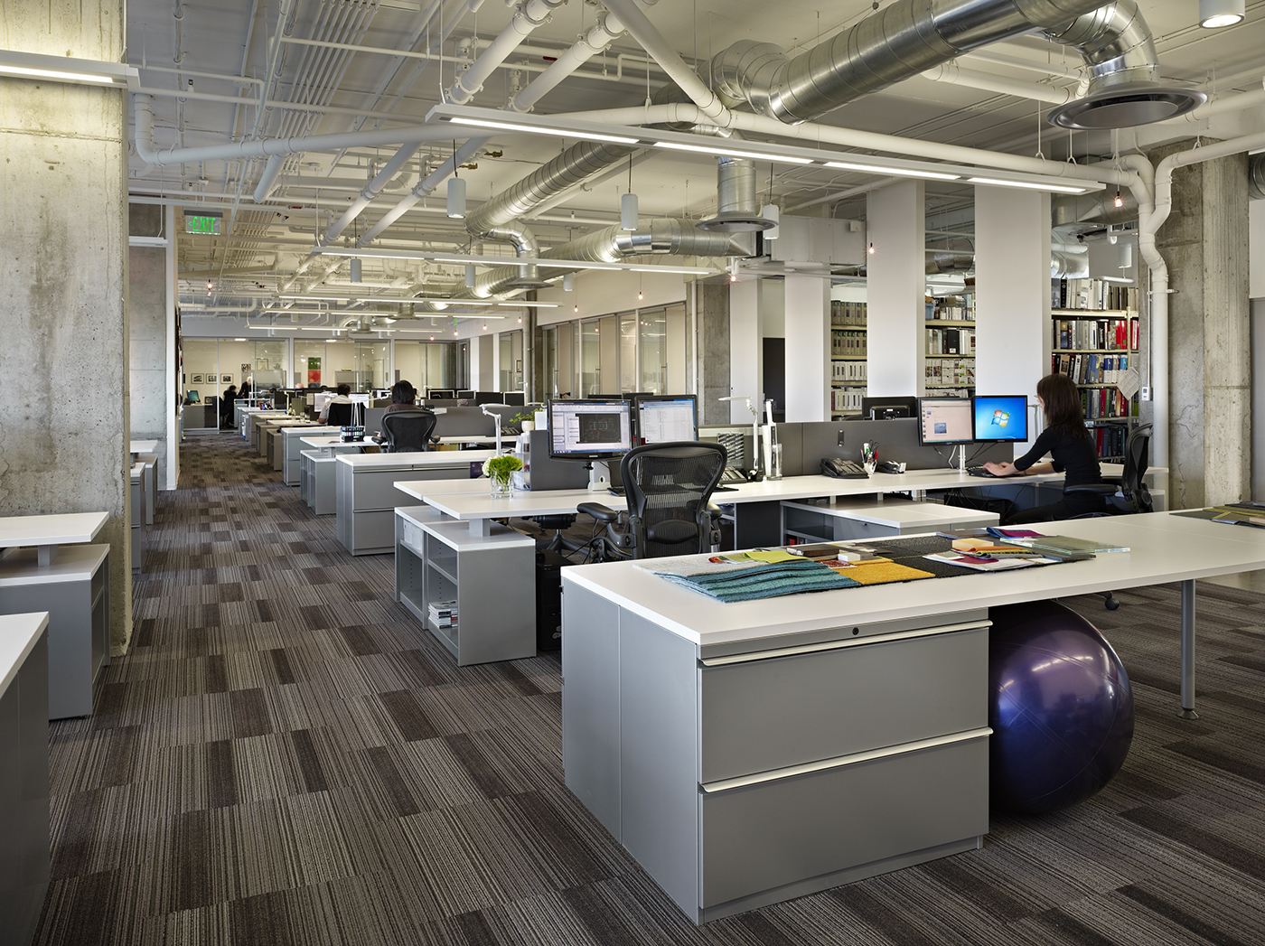 Open office spaces