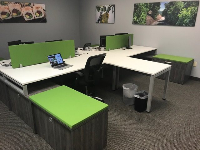 OFFICE INSTALL In DALLAS For West Pac Avocados of Temecula